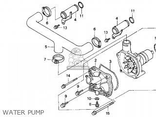 1999 Honda goldwing fuel pump