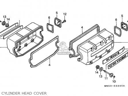 Diagram Of Parts For 1990 Honda Goldwing