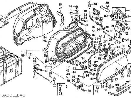 Honda GL1500A GOLDWING ASPENCADE 1991 (M) NORWAY BELGIUM
