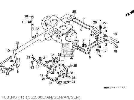 Honda GL1500A GOLDWING ASPENCADE 1992 (N) NORWAY / KPH