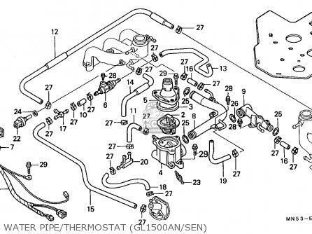 Honda Gl1500a Goldwing Aspencade 1992 (n) Spain / Kph