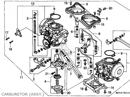 Honda Gl1500a Goldwing Aspencade 1993 Finland / Kph parts