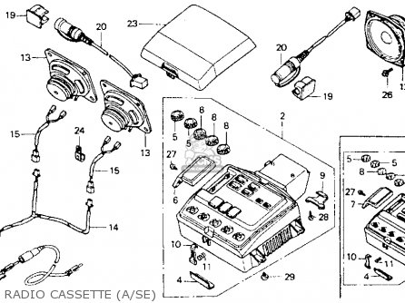 Honda Gl1500a Goldwing Aspencade 1993 (p) Usa California