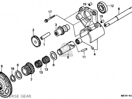 Honda GL1500A GOLDWING ASPENCADE 1994 (R) FRANCE / KPH