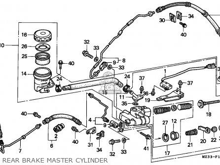 Honda Gl1500a Goldwing Aspencade 1995 Finland / Kph parts