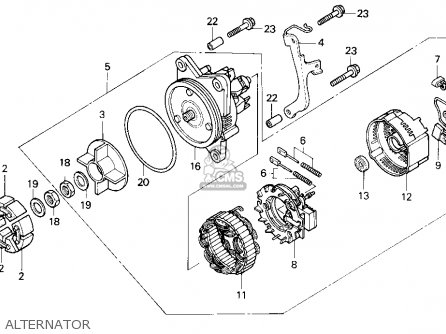 1988 Honda Goldwing Alternator Wiring Diagram Honda