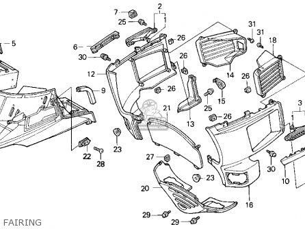 1993 Honda Goldwing Wiring 1993 Honda Motorcycle wiring