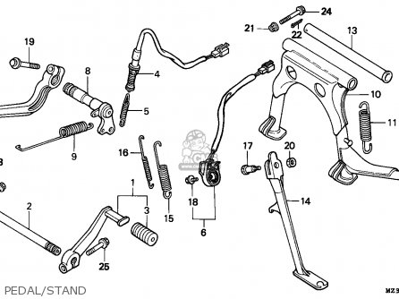 Honda Gl1500 Wiring Diagram Honda Wiring Diagram ~ Elsavadorla