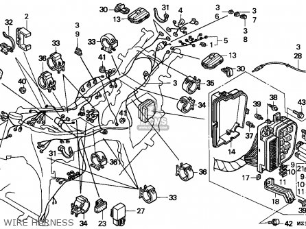 2008 Honda Goldwing Wiring Diagram Honda Goldwing