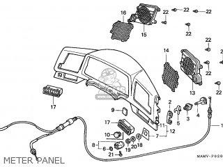 Honda GL1500A GOLDWING ASPENCADE 1997 (V) EUROPEAN DIRECT