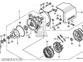 Honda GL1500C VALKYRIE 1997 (V) SWITZERLAND parts lists