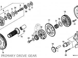 Honda Gl1500c Valkyrie 1997 (v) Switzerland parts list