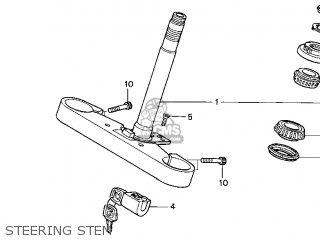 Honda Gl1500c Valkyrie 1997 (v) Usa California parts list