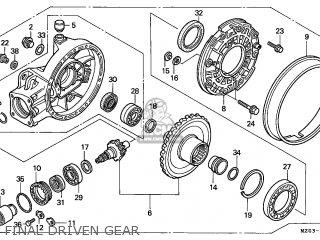 Honda Gl1500c Valkyrie 1998 Germany parts list partsmanual
