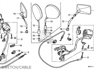 Honda GL1500C VALKYRIE 1998 (W) AUSTRALIA / RBM parts