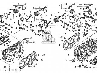 Honda GL1500C VALKYRIE 1998 (W) CANADA / RBM parts lists