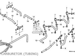 Honda Gl1500c Valkyrie 1998 (w) Germany parts list