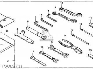 Honda Gl1500c Valkyrie 1998 (w) Usa California parts list