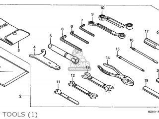Honda Gl1500c Valkyrie 1999 (x) Austria parts list