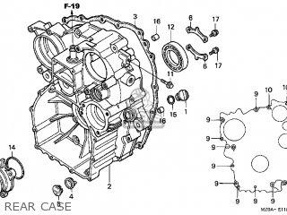 Honda GL1500CD VALKYRIE 2001 (1) CALIFORNIA parts lists