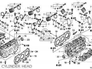Honda GL1500CD VALKYRIE 2003 (3) CANADA / KMH parts lists