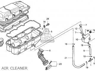 Honda Gl1500cf Valkyrie Interstate 1999 Usa parts list