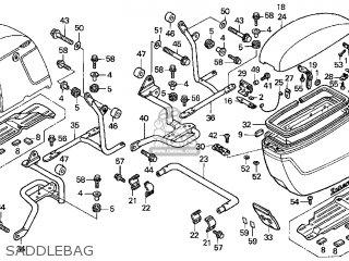 Honda GL1500CF VALKYRIE INTERSTATE 2000 (Y) USA CALIFORNIA