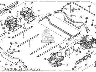 Honda Gl1500ct 1999 Valkyrie Tourer Usa parts list
