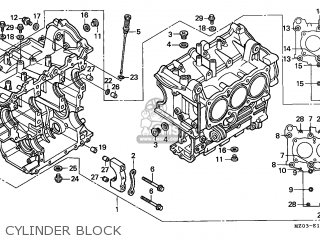Honda GL1500CT VALKYRIE 1997 (V) CANADA / RBM WIN parts