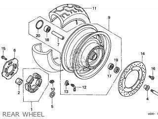 Honda GL1500CT VALKYRIE 1998 (W) CANADA / RBM WIN parts