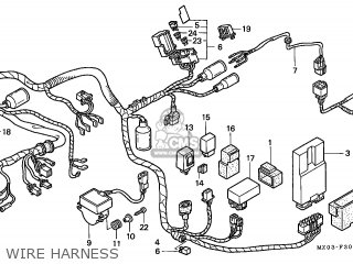 Honda Gl1500ct Valkyrie 1999 (x) Canada / Rbm Win parts