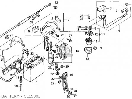 Honda Goldwing Aspencade Wiring Harness Diagram Honda