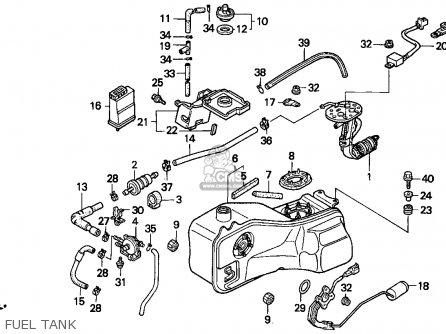 Honda Gl1500i Gold Wing Interstate 1994 Usa Front Brake