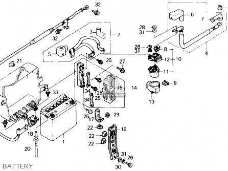 Honda GL1500I GOLDWING INTERSTATE 1991 (M) USA CALIFORNIA
