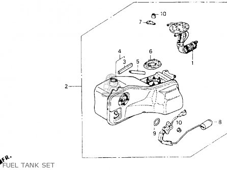 Honda GL1500I GOLDWING INTERSTATE 1992 (N) USA CALIFORNIA