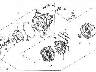Honda GL1500SE GOLDWING 1990 (L) JAPAN SC22-101 parts