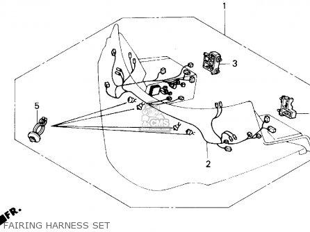 1990 Honda Goldwing Engine 1990 Honda Bike Wiring Diagram