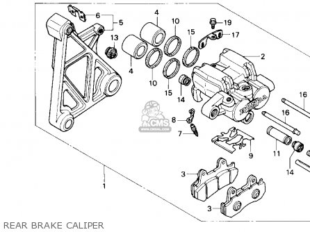 Honda GL1500SE GOLDWING 1990 (L) USA CALIFORNIA parts