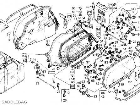 Honda GL1500SE GOLDWING 1991 (M) USA CALIFORNIA parts