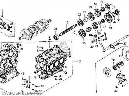 Honda Gl1500se Goldwing 1992 (n) Usa California parts list