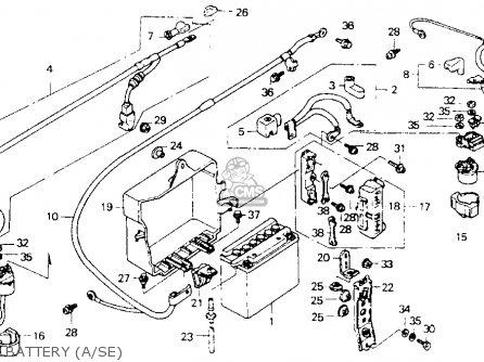 Honda GL1500SE GOLDWING 1993 (P) USA CALIFORNIA parts
