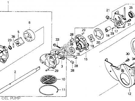 Goldwing Water Pump, Goldwing, Free Engine Image For User