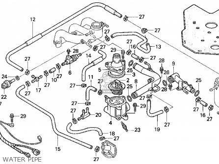 Honda GL1500SE GOLDWING 1995 (S) USA CALIFORNIA parts