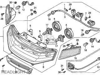 Honda GL1500SE GOLDWING 1998 (W) USA CALIFORNIA parts