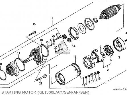 Honda GL1500SE GOLDWING SPECIAL EDITION 1991 (M) FRANCE