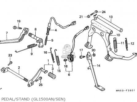 Honda Gl1500se Goldwing Special Edition 1992 Switzerland