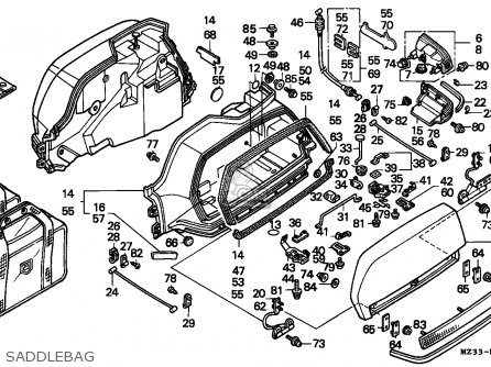 Honda GL1500SE GOLDWING SPECIAL EDITION 1994 (R) FINLAND
