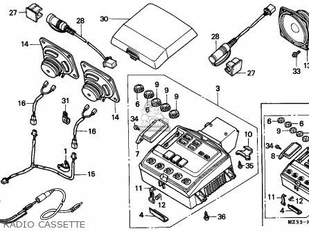 Honda GL1500SE GOLDWING SPECIAL EDITION 1994 (R) SPAIN