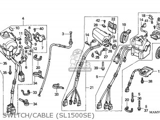 Honda GL1500SE GOLDWING SPECIAL EDITION 2000 (Y) GERMANY