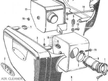 Honda Gl175 General Export parts list partsmanual partsfiche